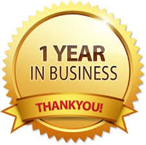 First anniversary of the spare parts webshop